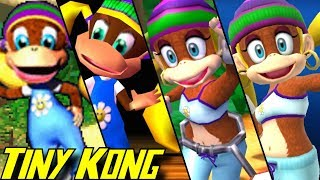Evolution of Tiny Kong (1999-2018)