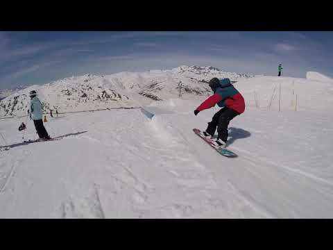 David Vicente 2018 snowboard edit