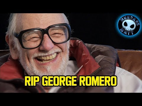 Rest in Peace George Romero you will be missed