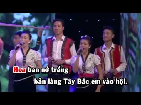 [HD] Karaoke Hoa Ban đêm hội vòng xòe (Karaoke by Kgmnc)
