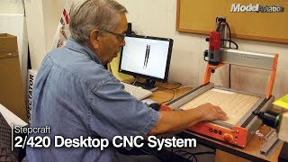 Stepcraft-2/420 Desktop CNC System - Model Aviation magazine