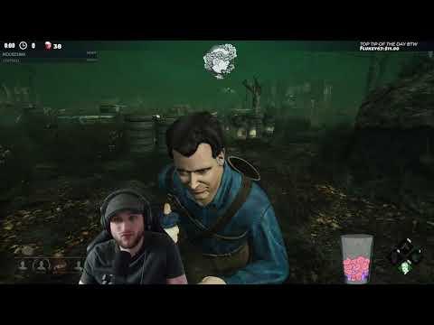 Dead by Daylight EVIL DEAD DLC RANK 5 ASH! - METTLE JUST SAVED ME! |
