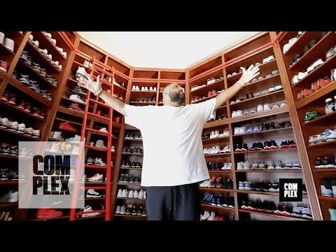 Complex Closets : DJ Khaled Shows His Sneaker Closet