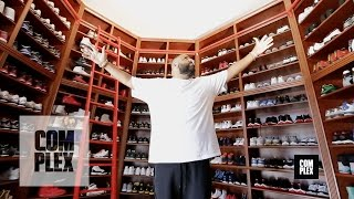 Download Complex Closets : DJ Khaled Shows His Sneaker Closet Mp3 and Videos