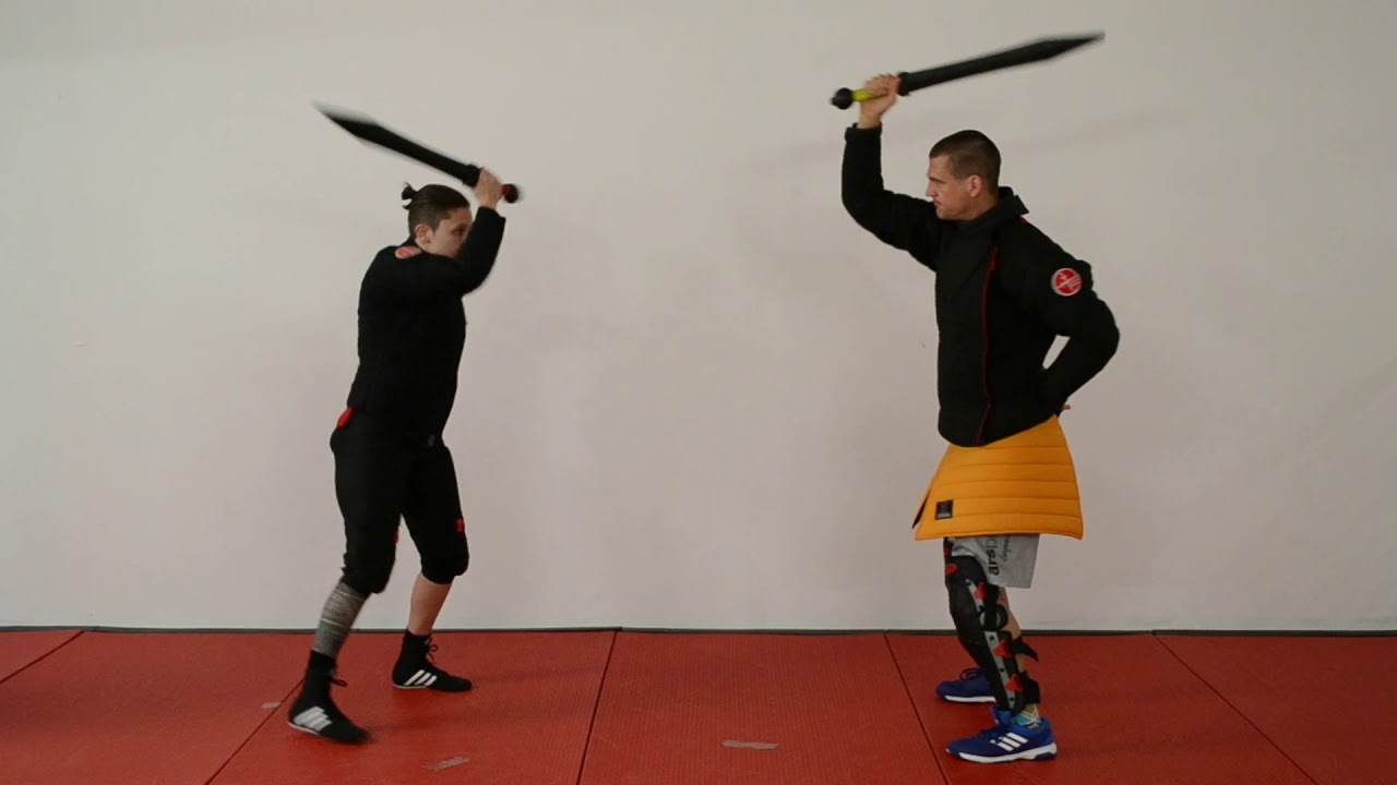 Striking Drill 1 Short Sword / Saber