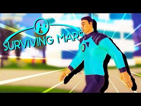 COLONIST Rocket ARRIVES! - Surviving Mars Gameplay
