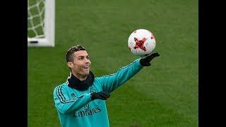 Cristiano Ronaldo in Training 2018: Skills/Tricks/Goals & Freestyle HD