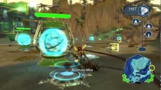 Ratchet & Clank: Full Frontal Assault / QForce Walkthrough - Part 1 HD