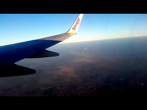 SpiceJet Boeing 737-8SH(From Bangalore To Ahmedabad)