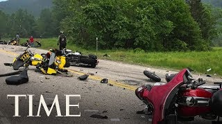 7 Dead In Collision With Several Motorcycles And A Pickup Truck | TIME