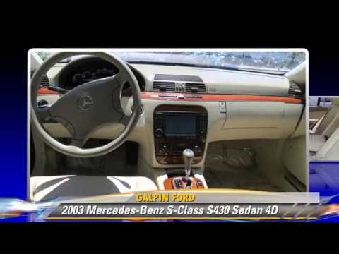 2003 Mercedes Benz S Class S430 Galpin Ford North Hills Youtube