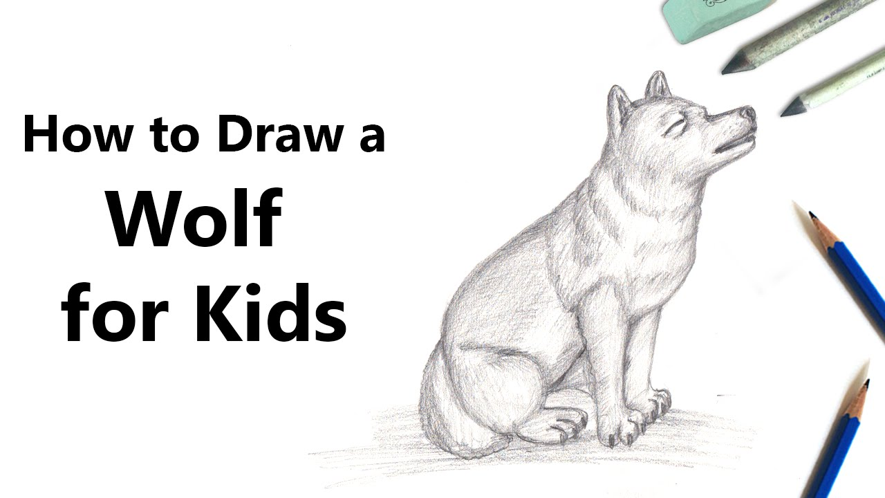Uncategorized Wolf Pup Drawing how to draw a wolf pup sketch with pencil time lapse youtube