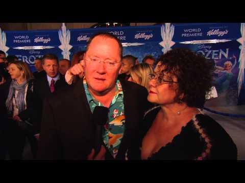 Frozen: John Lasseter World Premiere Movie Interview