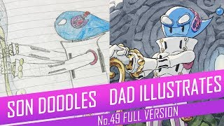 DRAWING with my kids - CAERUL, THE FOSSIL HUNTER [FULL VERSION] No.49