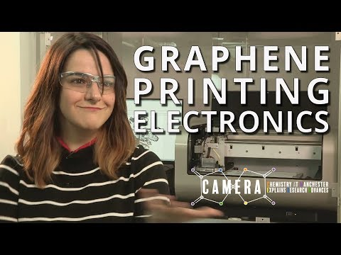 UoM Chemistry 05 Engineering Electronics with Graphene Printing