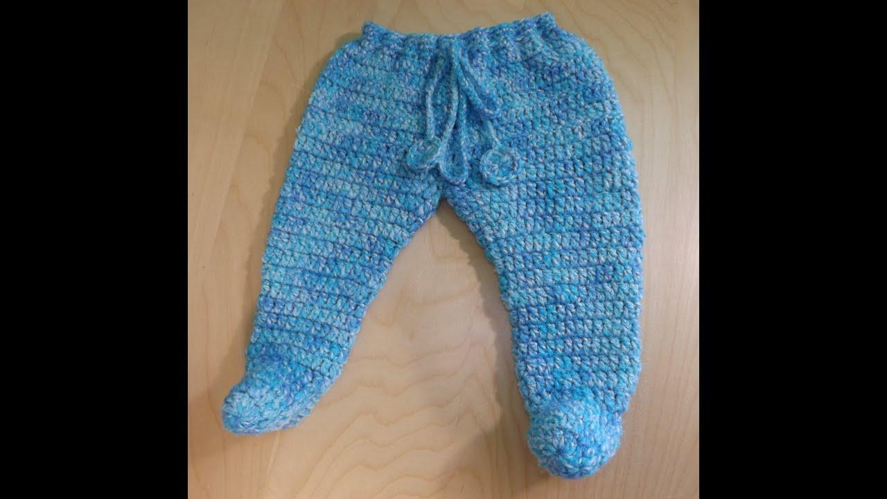 Crochet Baby Pants Youtube