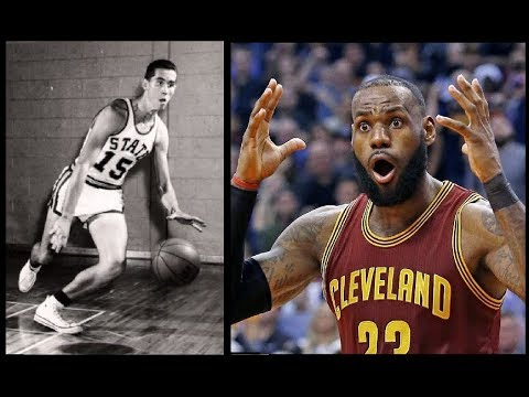 NBA Players React to Old School 1950s Basketball (SV)