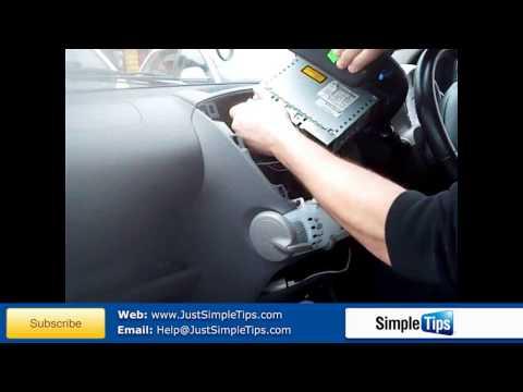 Radio Removal Toyota Aygo (2005-Present) | JustAudioTips