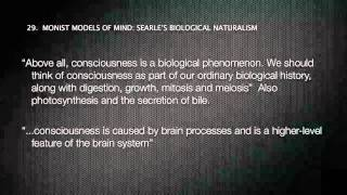 MONISM VS DUALISM & PSYCHIATRY 3/4 DENNET & SEARLE Thumbnail