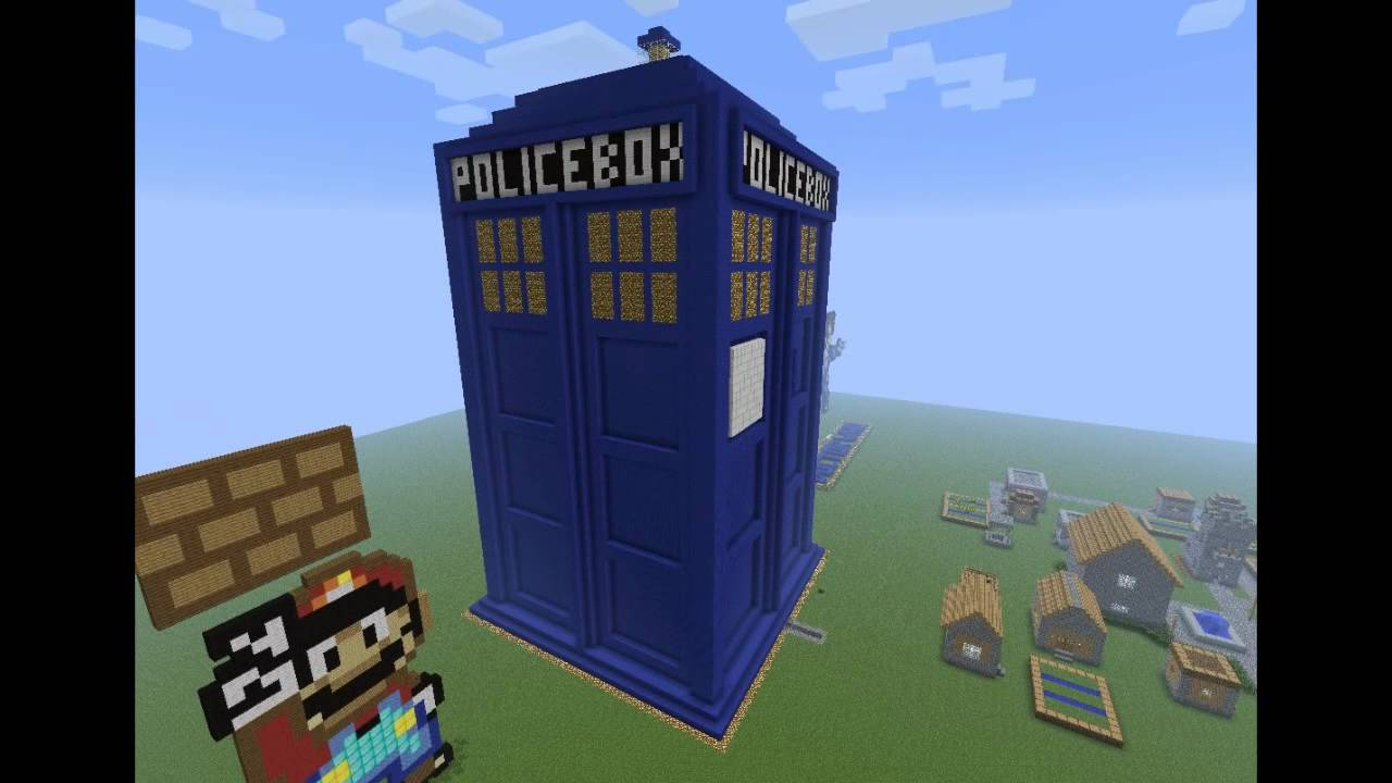 pixel art minecraft doctor who youtube