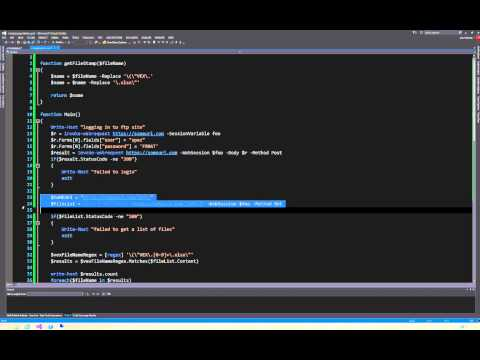 Web Scraping with PowerShell