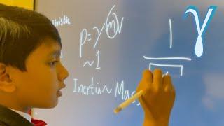 Relativity : Gamma factor | Prof. Soborno Isaac Bari