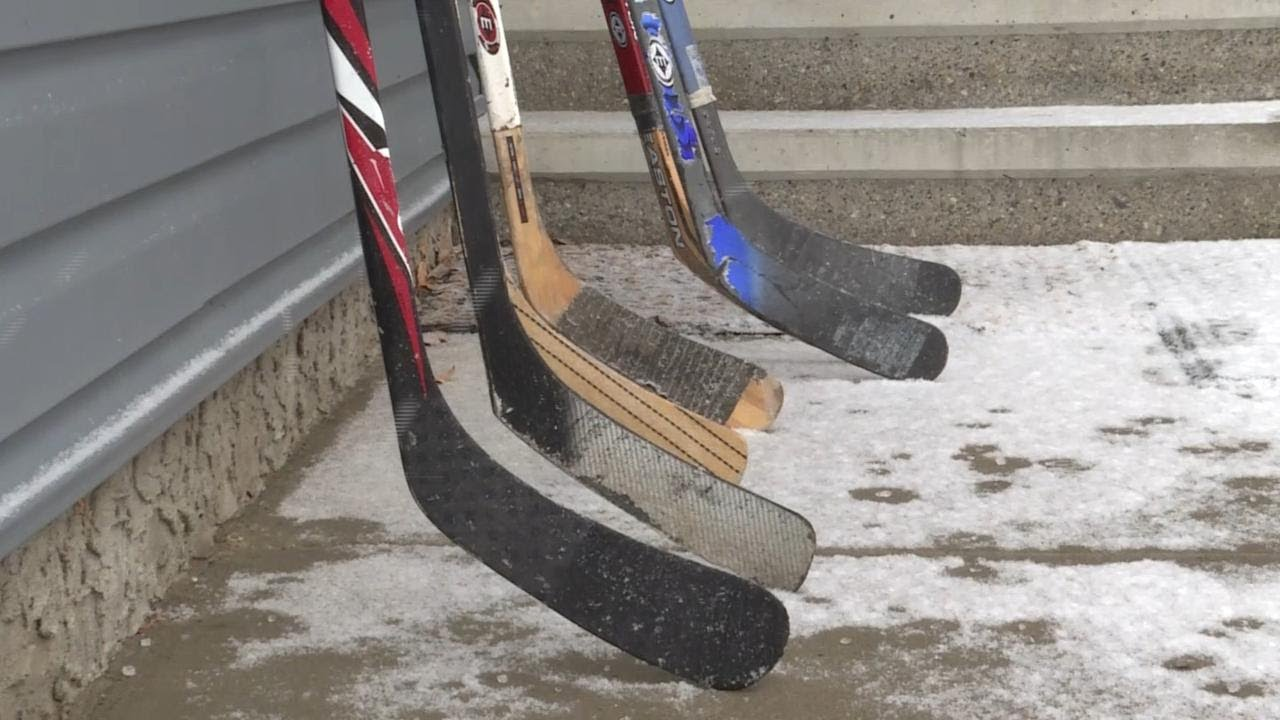 Hockey Sticks Left Out For Humboldt Tribute Stolen Says Calgary