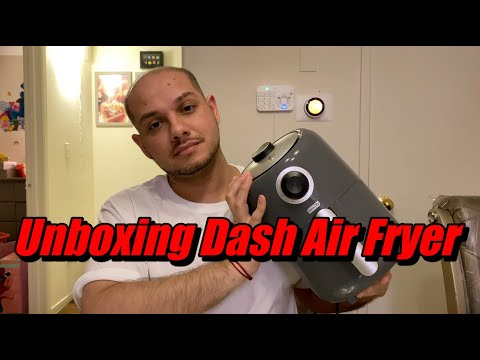 Unboxing/Review Dash Compact Air Fryer