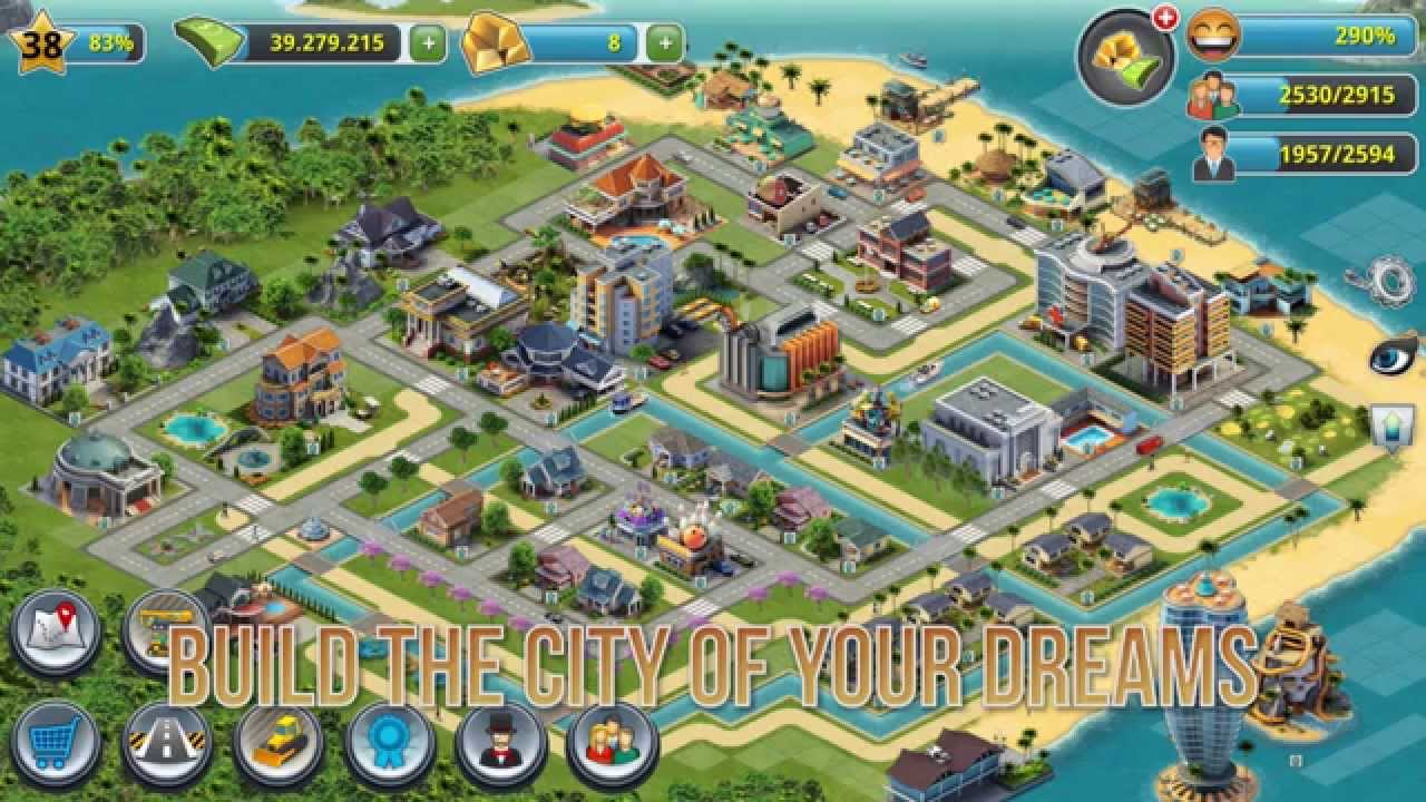 City Island  Building Sims