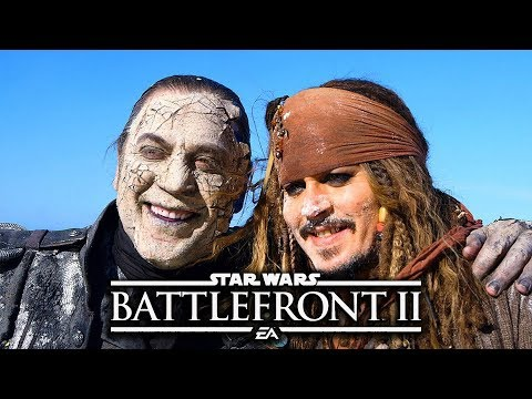 Star Wars Battlefront 2 Funny & Random Moments [FUNTAGE] #92 - Pirates Of The Caribbean Special thumbnail