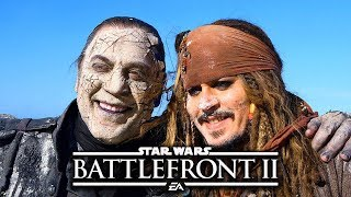 Star Wars Battlefront 2 Funny & Random Moments [FUNTAGE] #92 - Pirates Of The Caribbean Special