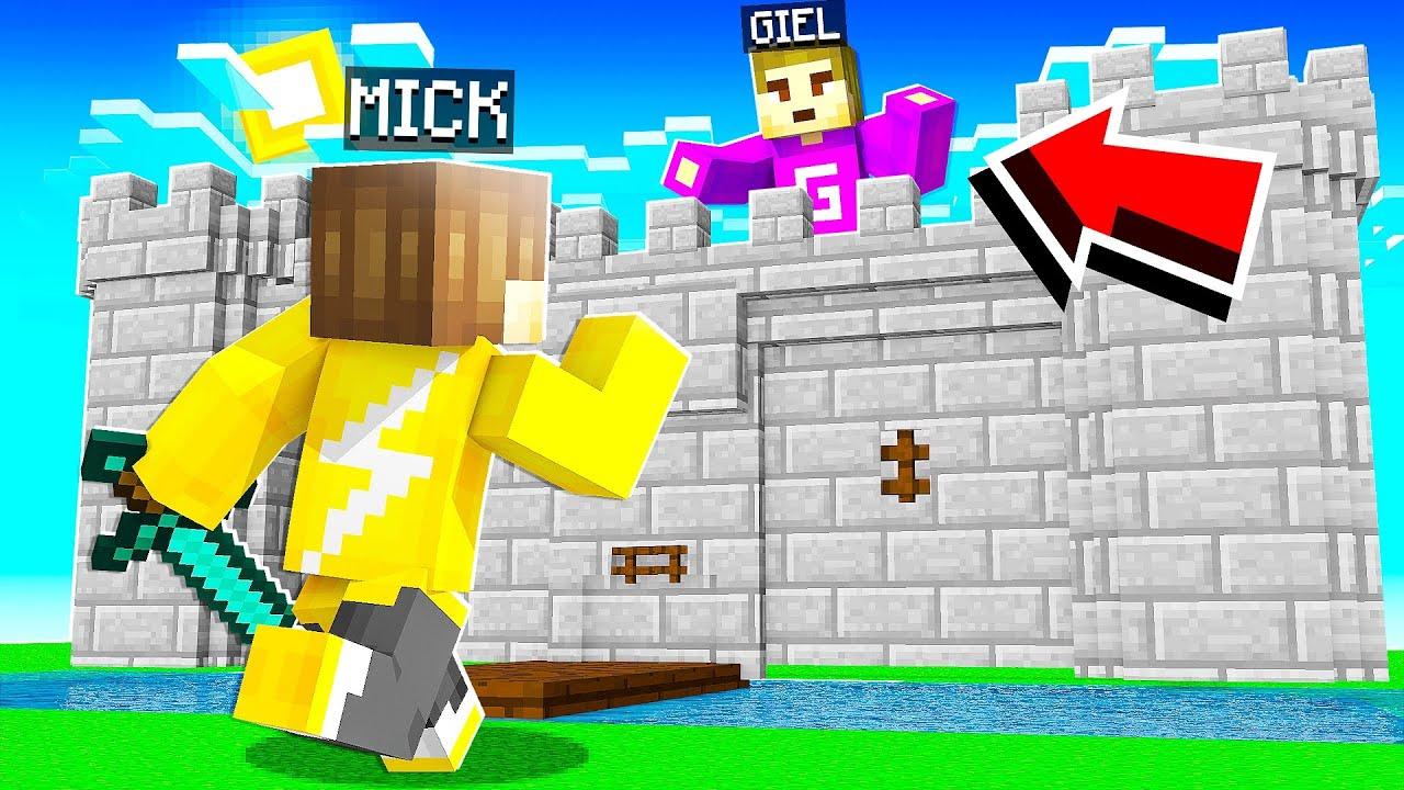 INBREKEN In Een GEHEIM KASTEEL In Minecraft