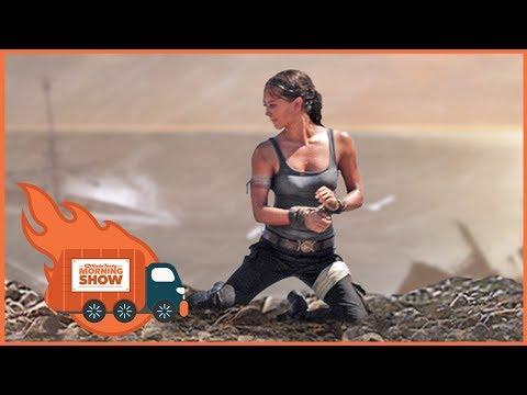 Tomb Raider Trailer Reactions - Kinda Funny Morning Show 09.20.17