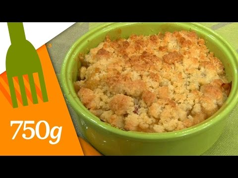 crumble-aux-pommes-et-à-la-rhubarbe---750g