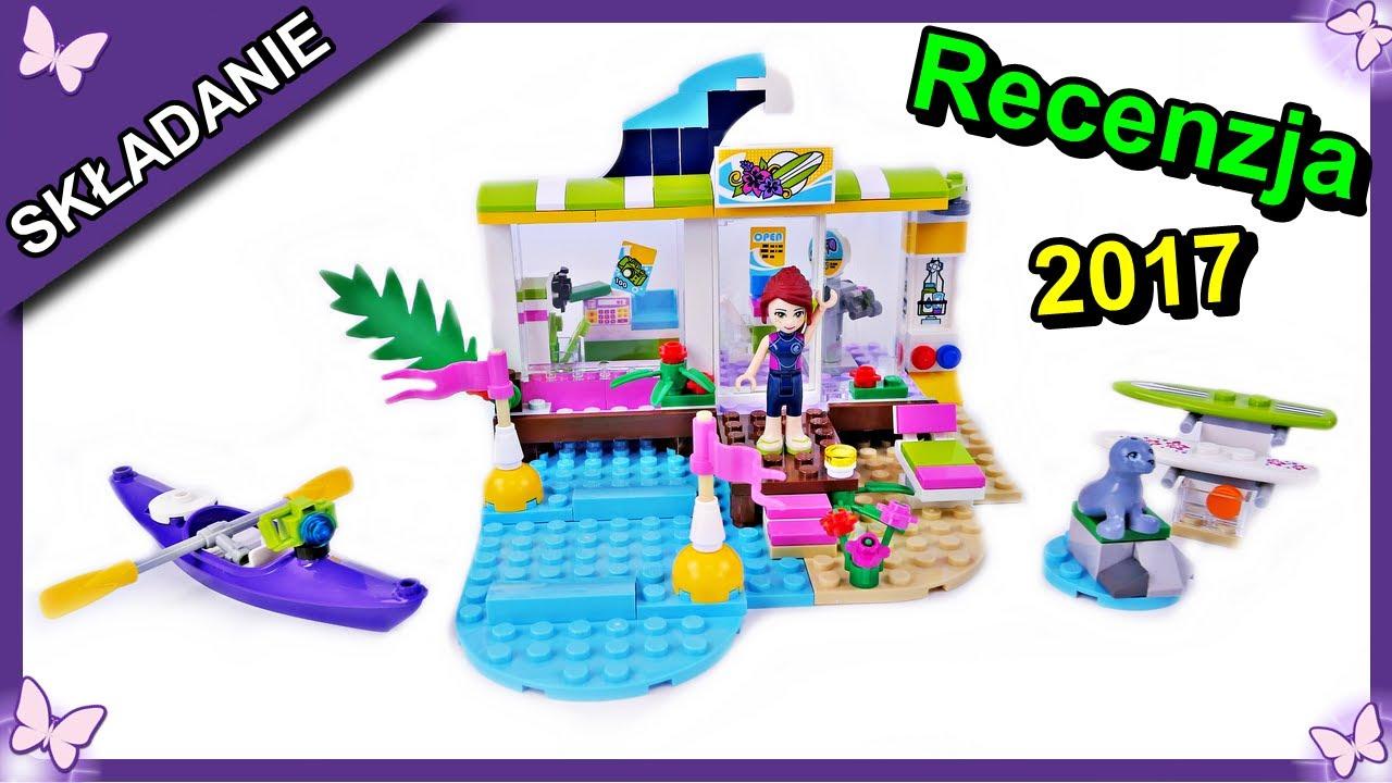Sklep Dla Surferów W Heartlake Klocki Lego Friends 41315 Budowanie