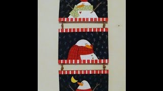 Seasonal Door Decoration - Snowman Trio