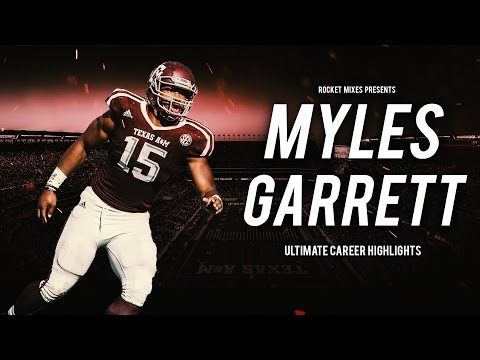 "Myles Garrett - ""#1 Pick"" 