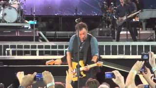 Bruce Springsteen concert video from Toronto (part 1): The BOSS