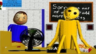 SECRET CHARACTER!? Five Nights at Baldi's Basics in Education and Learning