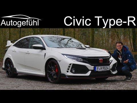 Honda Civic Type R FULL REVIEW GT FK8 2018/2019 Sound & Acceleration - Autogefühl - Dauer: 33 Minuten