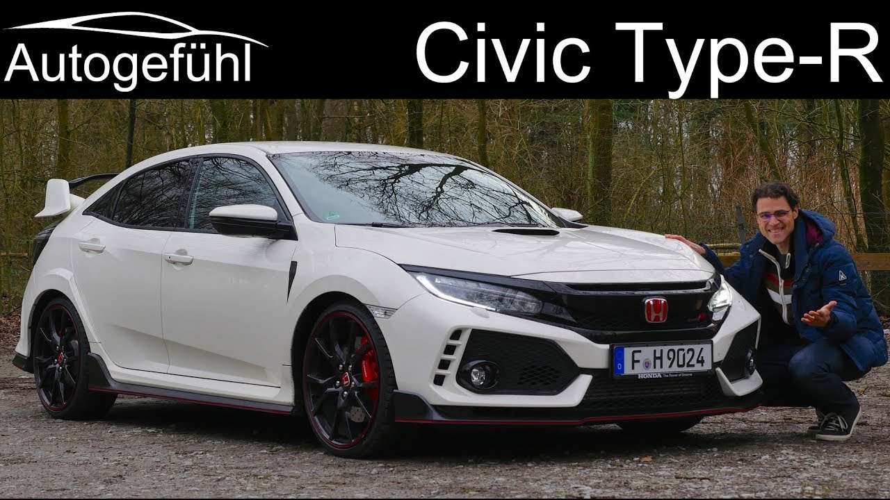 Honda Civic Type R FULL REVIEW GT FK8 2018/2019 Sound & Acceleration - Autogefühl - YouTube