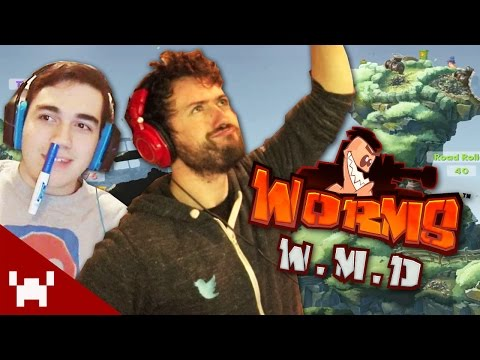 ENEMIES OF THE GAME! (Worms WMD w/ The Derp Crew) |