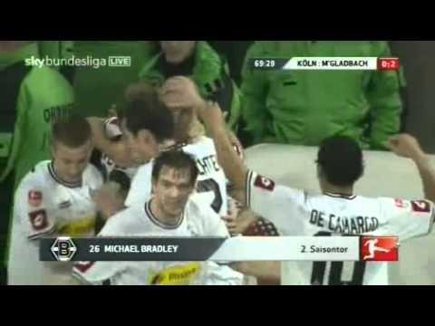 1.FC Köln - Borussia Mönchengladbach 0:2 durch Michael Bradley