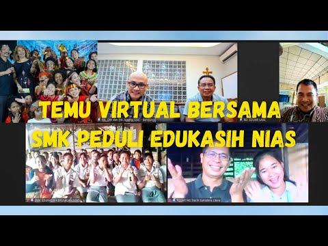Temu Virtual Bersama SMK Edukasih Pulau Nias, Sumatra Utara