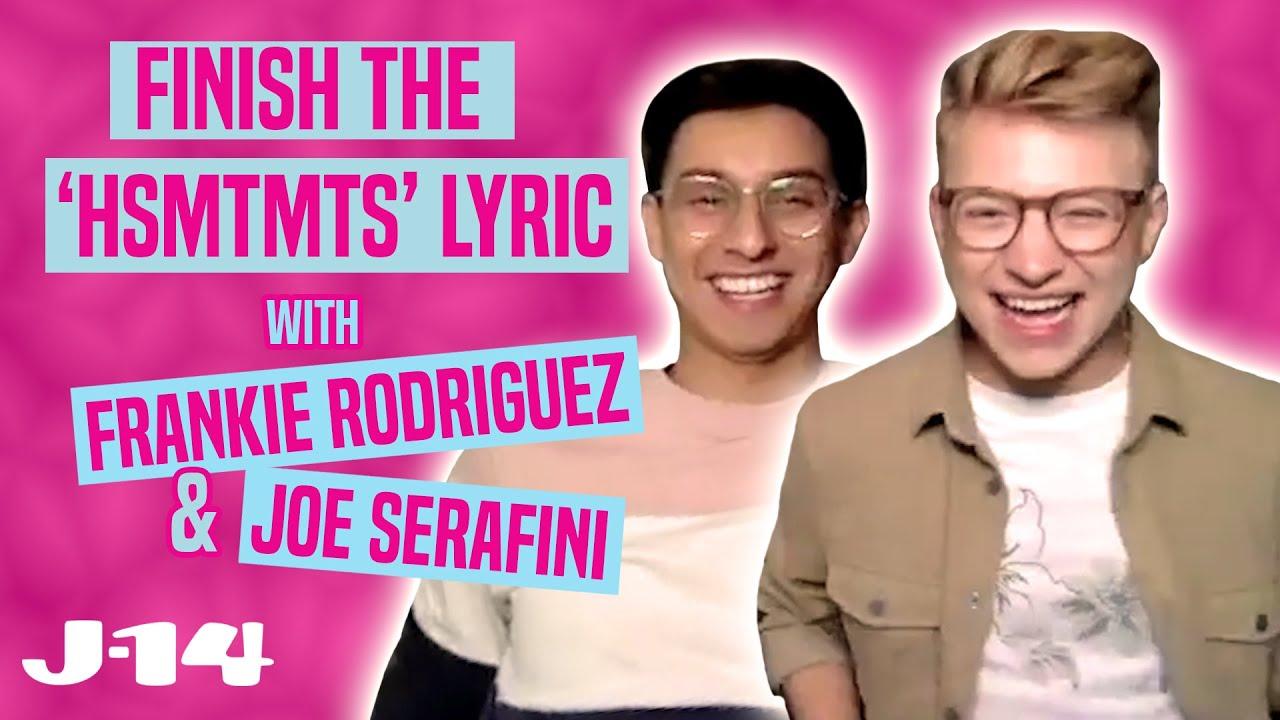 Frankie Rodriguez and Joe Serafini Play Finish the HSMTMTS Lyric