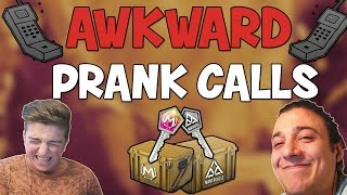 "CS:GO - Cases 1v1 - ""Awkward Prank Calls"" Ft. Mantrousse! (CSGO Case Opening)"