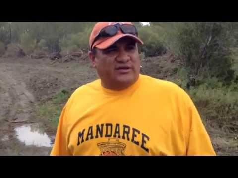 #2 Destruction of Wetland, Little Missouri River Near Mandaree, ND