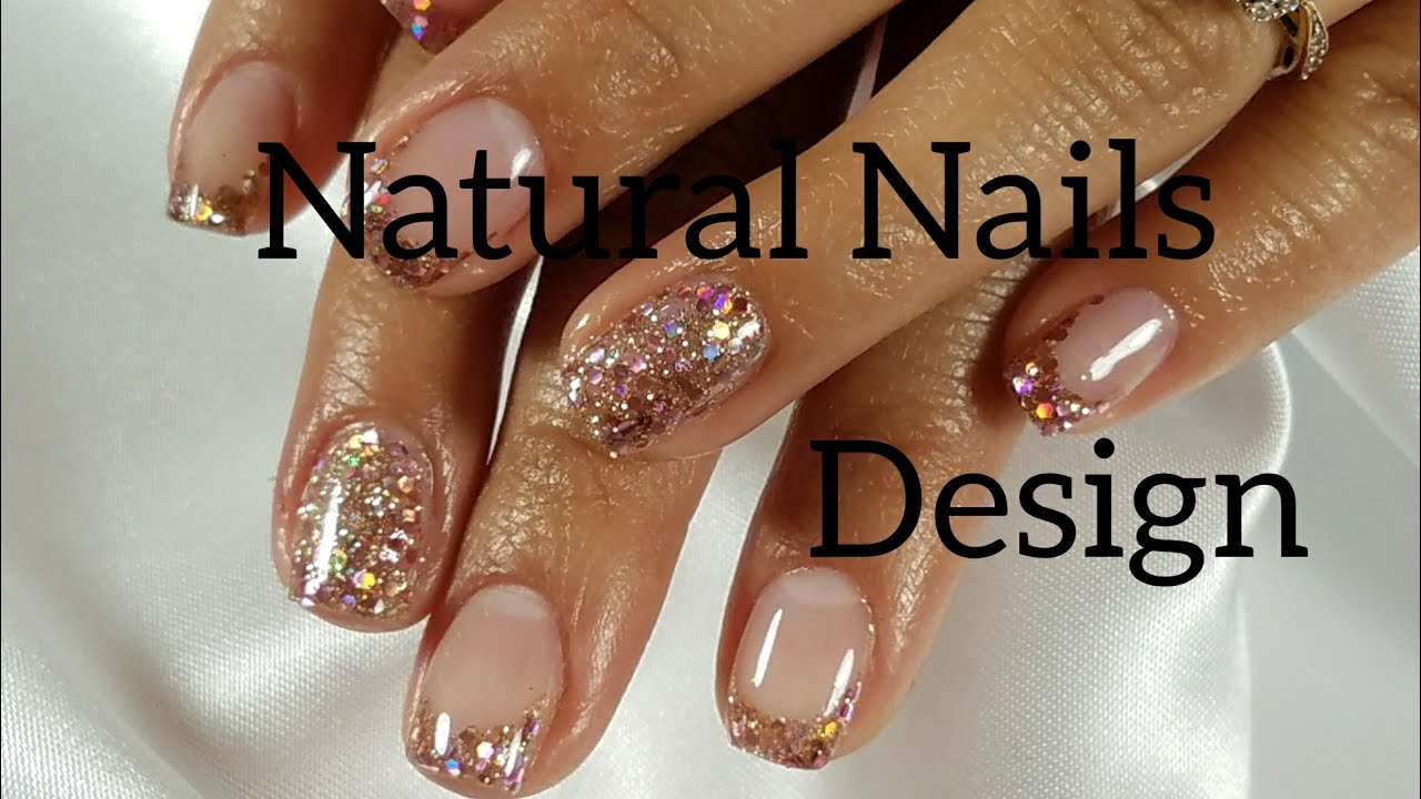 Design with Acrylic on short natural Nails.English - Design With Acrylic On Short Natural Nails.English - YouTube