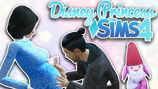 First Dwarf Baby! | Ep. 3 | Sims 4 Disney Princess Challenge