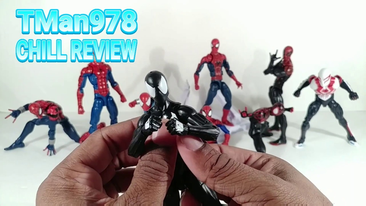 Marvel Legends Black Suited Spider-Man Sandman Wave